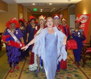 red_hat_society_royal_court_of_queens_processional